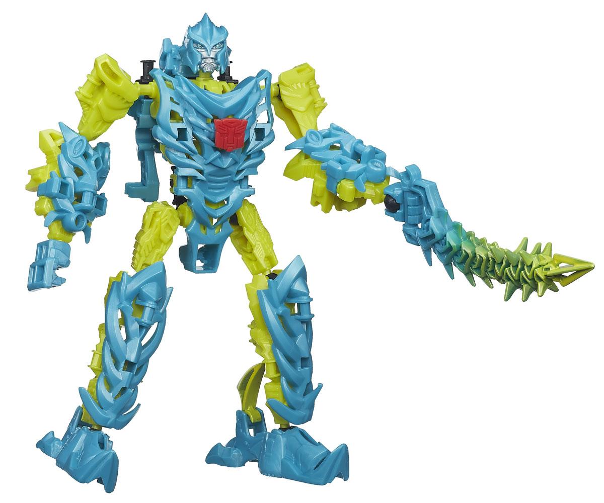 Transformers Констракт-Боты Дино: SlashA6148_4Конструктор Transformers Констракт-Боты Дино: Slash понравится вашему маленькому поклоннику Трансформеров и не позволит ему скучать. В комплект входят 32 ярких пластиковых элемента, с помощью которых можно собрать фигурку динобота Слэша - персонажа популярных мультсериалов о Трансформерах. Динозавр может трансформироваться в грозного робота. Ваш ребенок часами будет занят игрой, придумывая разные истории. Порадуйте его таким замечательным подарком! УВАЖАЕМЫЕ КЛИЕНТЫ! Обращаем ваше внимание на возможные незначительные изменения в дизайне упаковки.
