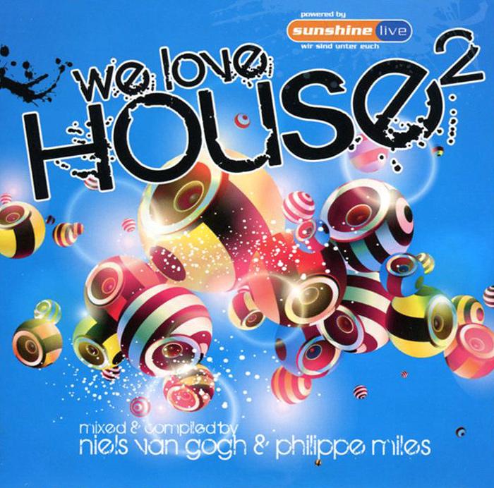 We Love House 2 (2 CD) 2011 2 Audio CD