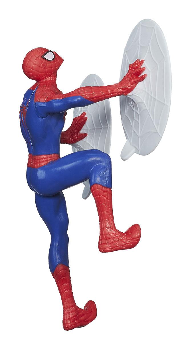 Фигурка Spider-Man, 15 см. A6284_А6285A6284E27_А6285Фигурка Spider-Man станет прекрасным подарком для вашего маленького героя. Она выполнена из прочного яркого пластика в виде знаменитого супергероя - Человека-паука. Каждая фигурка воплощает в жизнь одну из уникальных возможностей супергероя (стреляет паутиной, раскачивается на канате или может прилипать к поверхности). Ваш ребенок будет часами играть с этой фигуркой, придумывая различные истории с участием любимого героя. Человек-паук - супергерой, получивший суперсилу, увеличенную ловкость, паучье чутье, а также способность держаться на отвесных поверхностях и выпускать паутину из рук. Теперь он готов наказать злодеев, которые покушаются но покой его родного города!