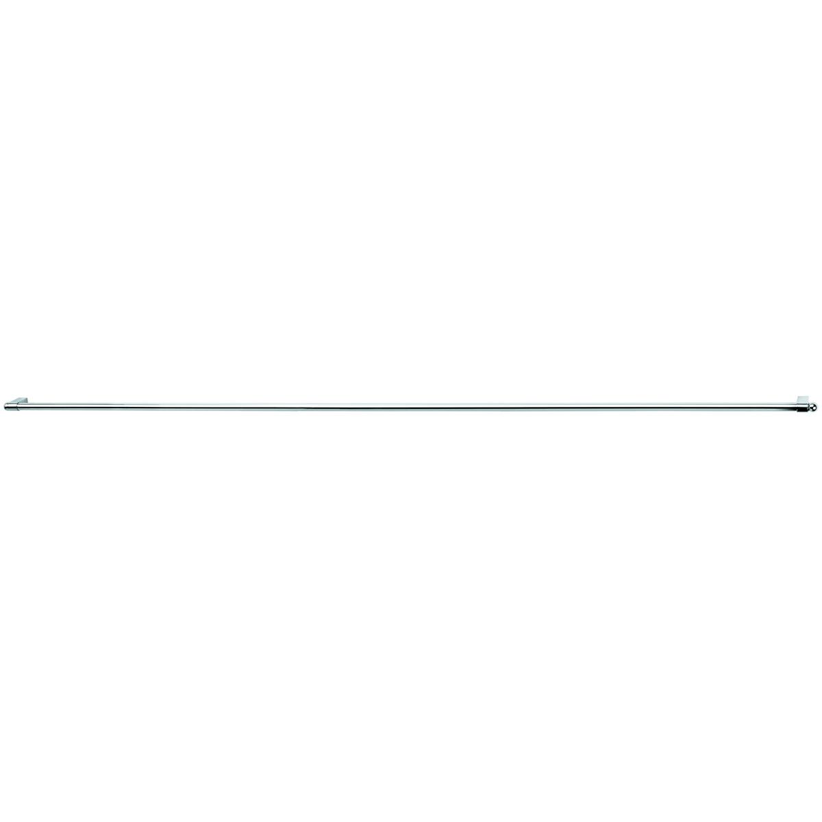 Рейлинг Esprado Platinos, с комплектом крепежа, 1 м. 0011610E2010011610E201Рейлинг Platinos, выполненный из стали с никель-хромовым покрытием, прекрасно подойдет для ванной комнаты. Рейлинг можно использовать для развешивания полотенец, мочалок и других аксессуаров. Благодаря стильному современному дизайну рейлинг впишется в интерьер любой кухни или ванной комнаты. В комплекте: рейлинг, 2 заглушки, 2 держателя.