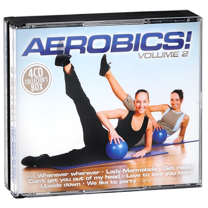 Aerobics! Volume 2 (4 CD) 2011 4 Audio CD