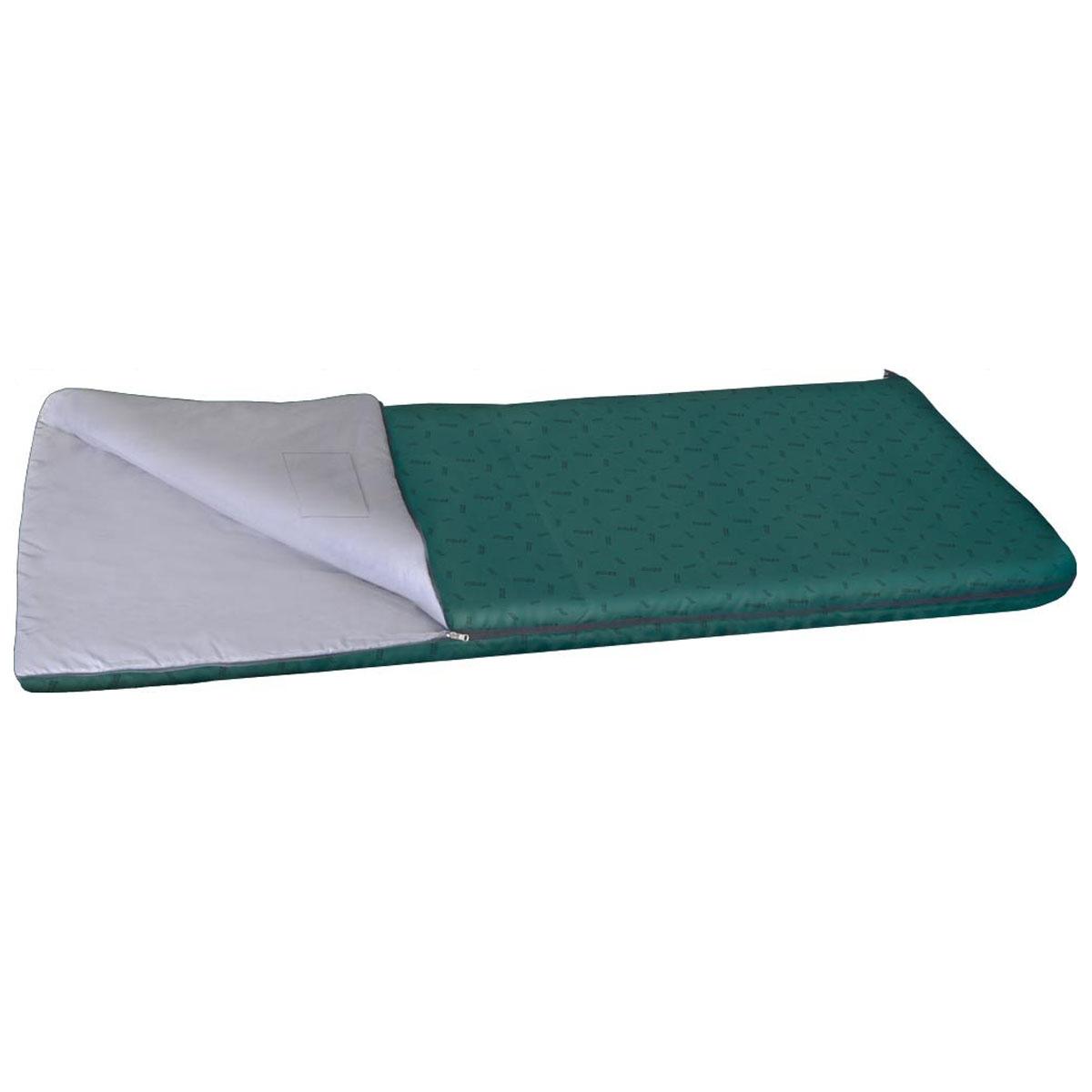Спальный мешок-одеяло Nova Tour Валдай 300, цвет: нави, левосторонняя молния. 95210-306-0095210-306-00Спальный мешок Валдай 300 - это ваш первый спальник, отличный вариант для начинающего туриста. Если вам трудно определиться с условиями, в которых будет использоваться спальник, то Валдай 300 именно тот вариант, универсальный, недорогой и надежный. Купив спальный мешок Валдай 300, вы получаете полноценный отдых без особых материальных затрат. Температурные характеристики этого спальника предполагают его использование в теплое время года. Два слоя новейшего утеплителя улучшенной серии Thermofibre-S-Pro, легкая ткань верха Polyester 100% и отсутствие дополнительного подголовника обеспечили низкий вес спальника Валдай 300 и небольшие размеры в свернутом виде. Спальник компактно упаковывается в компрессионный мешок. Благодаря двухзамковой молнии, имеется возможность состегнуть два спальника в один двойной, для совместного, еще более комфортного отдыха. Ткань верха: Polyester 100%. Внутренняя ткань: Polyester 100%.