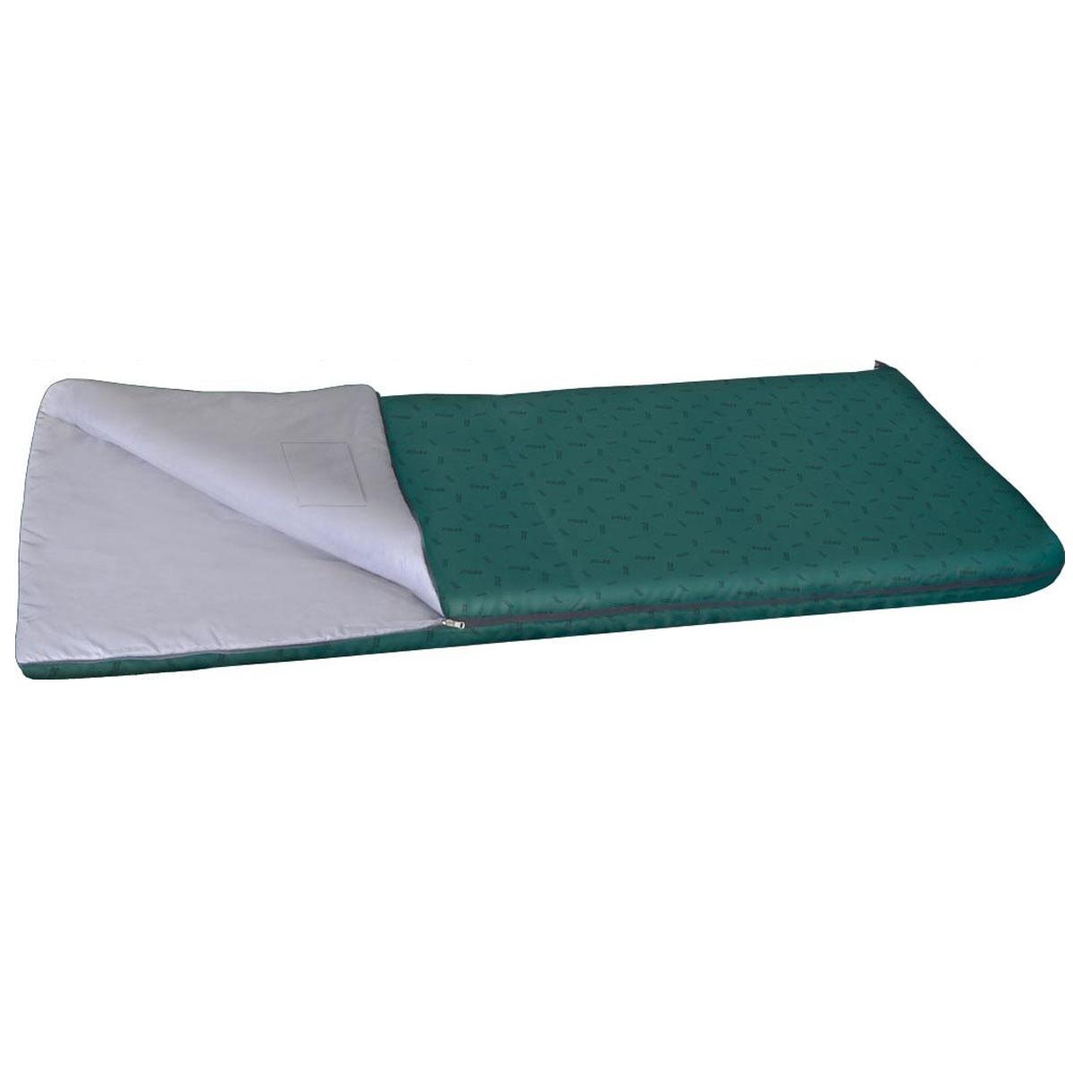 Спальный мешок NOVA TOUR Валдай 450, левосторонняя молния, цвет: нави95211-306-00Комфортный демисезонный спальный мешок NOVA TOUR Валдай 450, трансформирующийся при необходимости в теплое одеяло. Спальный мешок серии весна-осень, конструкции одеяло с синтетическим наполнителем. Для уменьшения веса изготавливается без подголовника. Благодаря двухзамковой молнии, имеется возможность состегнуть два спальника в один двойной. Для сушки и проветривания изделия предусмотрены две петли в нижней части мешка. Компрессионный мешок в комплекте.