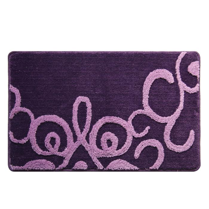 """Коврик для ванной комнаты Milardo """"Fairyland Violet"""", 50 х 80 см 471PA58M12"""