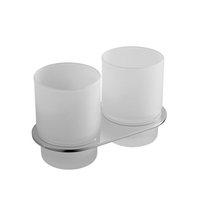 Подстаканник IDDIS Mirro двойной, цвет: белый. MIRMBG2I45MIRMBG2I45