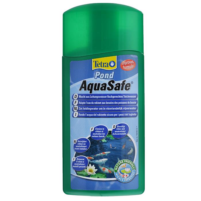 Средство для подготовки воды для пруда Tetra Pond AquaSafe, 500 мл735460Tetra Pond AquaSafe - профилактическое средство, превращающее агрессивную водопроводную воду в экологически здоровую и пригодную среду обитания рыб. Специальная комбинация действующих веществ делает воду в пруду безопасной и поддерживает её такой: - Эффективно и надёжно тяжелые металлы, такие как медь, кадмий; - Нейтрализует агрессивный хлор; - Благодаря содержанию органических коллоидов обеспечивает защиту слизистой оболочки рыб, предотвращает гниение плавников; В состав препарата входит важный витамин B1, снижающий стресс рыб, а также повышающий их естественную сопротивляемость болезням; Создает идеальные условия для микроорганизмов, которые удаляют загрязняющие вещества и сокращают концентрацию аммония/аммиака и нитритов; Немедленный и длительный эффект; Особенно рекомендуем после продолжительных дождей, во время первоначального заполнения пруда, а также при каждой последующей частичной замене воды; ...