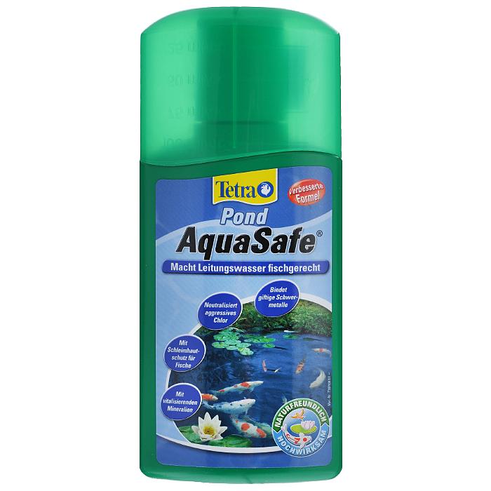 Средство для подготовки воды для пруда Tetra Pond AquaSafe, 250 мл737716Tetra Pond AquaSafe - профилактическое средство, превращающее агрессивную водопроводную воду в экологически здоровую и пригодную среду обитания рыб. Специальная комбинация действующих веществ делает воду в пруду безопасной и поддерживает её такой: - Эффективно и надёжно тяжелые металлы, такие как медь, кадмий; - Нейтрализует агрессивный хлор; - Благодаря содержанию органических коллоидов обеспечивает защиту слизистой оболочки рыб, предотвращает гниение плавников; В состав препарата входит важный витамин B1, снижающий стресс рыб, а также повышающий их естественную сопротивляемость болезням; Создает идеальные условия для микроорганизмов, которые удаляют загрязняющие вещества и сокращают концентрацию аммония/аммиака и нитритов; Немедленный и длительный эффект; Особенно рекомендуем после продолжительных дождей, во время первоначального заполнения пруда, а также при каждой последующей частичной замене воды; ...