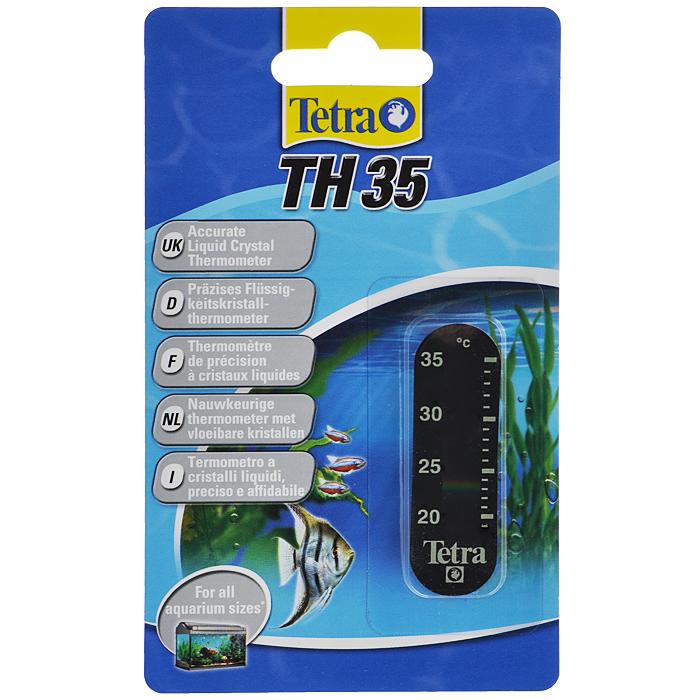 Термометр для аквариума Tetra TH35753686Точный жидкокристаллический термометр крепится на внешней стороне аквариумного стекла. Точно измеряет температуру воды в диапазоне 20-35°С. Легко считываемые показания прибора. Компактный, приятный дизайн.