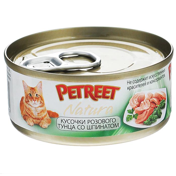 Консервы для кошек Petreet