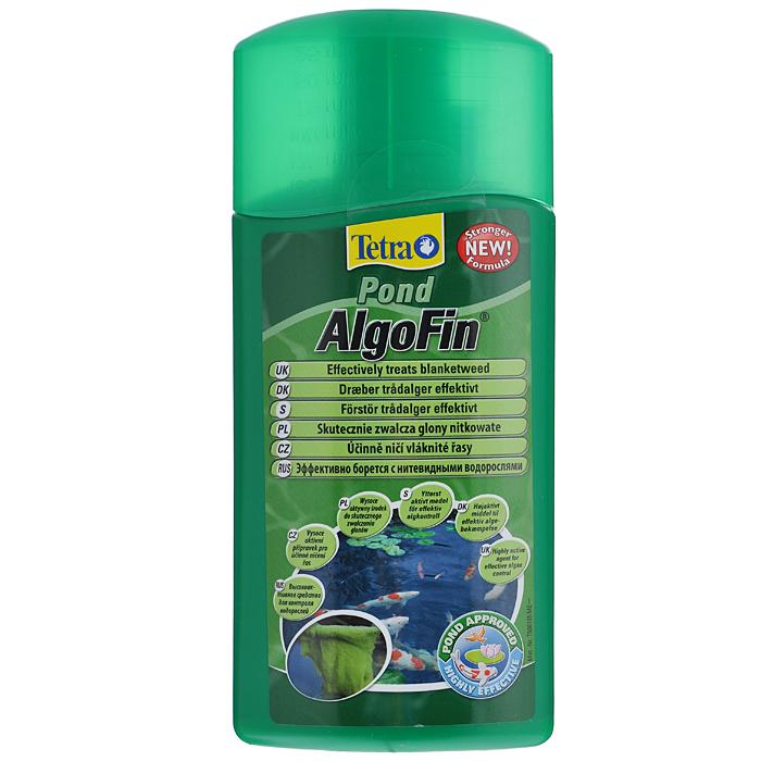 Средство Tetra Pond AlgoFin против нитчатых водорослей в пруду, 500 мл143784Tetra Pond AlgoFin - продукт, предназначенный для устранения нитчатых водорослей. Активно борется с нитевидными сине-зелеными водорослями, уничтожает все виды водорослей в пруду. Действие средства основано на блокировании метаболизма водорослей и их фотосинтеза. Активное вещество препарата действует 2-3 недели, предотвращая тем самым рост водорослей. Использование средства безопасно для полезной микрофлоры водной среды, не вредит растениям и рыбам. Условия хранения: от +5 С° до + 25 С°. Товар сертифицирован.