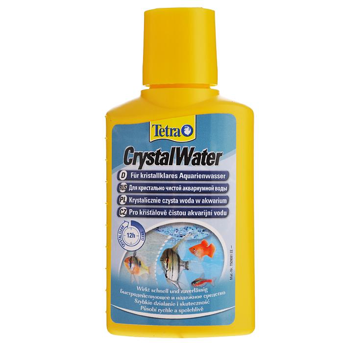 Средство для очистки воды Tetra CrystalWater, от всех видов мути, 100 мл144040Средство для очистки воды Tetra CrystalWater удаляет частицы грязи из аквариумной воды быстро, безопасно и надежно. Для кристально чистой аквариумной воды. Отобранные минералы удаляют любые виды помутнений; Благодаря бережному способу воздействия средство является абсолютно безвредным для рыб и растений аквариума и быстро делает воду в нем кристально чистой; Действенность продукта можно наблюдать по образованию белого облачка. Оно безопасно и рассеивается через несколько часов; Активные компоненты в Tetra CrystalWater связывают мелкие частицы, объединяя их в большие, которые можно потом отфильтровать из воды с помощью аквариумного фильтра; Для оптимальных результатов необходимо регулярно чистить фильтр. Первые результаты заметны уже через 2-3 часа. В течение 6-12 часов вода становится кристально чистой. Для всех пресноводных аквариумов. Применение. При наличии помутнений добавьте 5 мл средства на 10 л...
