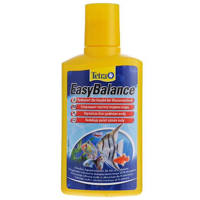 Кондиционер Tetra EasyBalance для стабилизации параметров воды, 250 мл139176Жидкий кондиционер Tetra EasyBalance для стабилизации среды обитания рыб, а также поддержания долгосрочного биологического равновесия в аквариуме - до 6 месяцев. Снижает количество замен аквариумной воды. стабилизация показателей рН и карбонатной жесткости (КН) воды приводит к минимизации изменений химического состава воды, а также к предотвращению быстрого падения кислотности, которое крайне негативно сказывается на состоянии здоровья рыб; биологическим способом снижает содержание фосфатов и нитратов, уменьшая тем самым рост водорослей; содержащиеся в продукте гранулы уменьшают содержание нитратов, быстро опускаясь на дно и распределяясь по всему аквариуму; наполняет аквариум витаминами, микроэлементами и минералами; при правильной дозировке обеспечивает здоровую среду обитания для ваших растений и рыб в пресноводном аквариуме на протяжении 6 месяцев; сокращает число замен воды; создает благоприятные условия для...