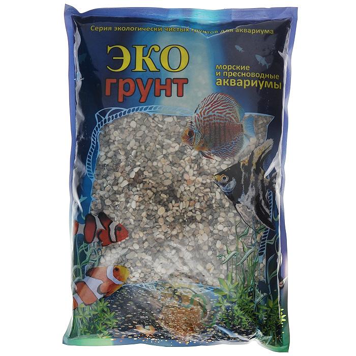 Галька ЭКО грунт Феодосия, для аквариумов, 1-3 мм, 3,5 кгг-0021ЭКО грунт (произведено в России) - это широкий ассортимент природного натурального и цветного грунта. Каждая упаковка содержит тщательно промытый, просеянный и откалиброванный грунт. Экологически чистая краска, которая покрывает цветные грунты, безопасна для всех обитателей аквариумов и террариумов. Главными качествами этой краски являются ее яркость, устойчивость и безопасность для живых организмов. Разнообразие грунтов позволит Вам комбинировать фракции различных цветов и размеров, создавая при этом неповторимые декоративные композиции для украшения террариумов и аквариумов. Изготовлен из экологически чистого сырья, откалиброван, промыт и подвергнут термической обработке. Область применения - морские и пресноводные аквариумы, палюдариумы, террариумы. На каждой упаковке, помимо веса, указан калибр фракций.