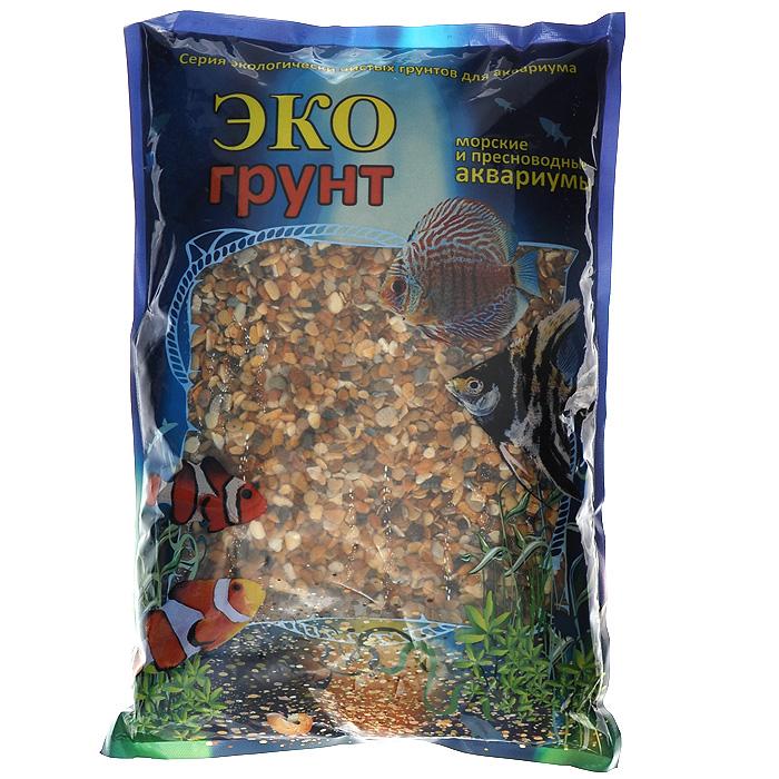 Галька ЭКО грунт Каспий, для аквариумов, 5-10 мм, 3,5 кгг-0076ЭКО грунт (произведено в России) - это широкий ассортимент природного натурального и цветного грунта. Каждая упаковка содержит тщательно промытый, просеянный и откалиброванный грунт. Экологически чистая краска, которая покрывает цветные грунты, безопасна для всех обитателей аквариумов и террариумов. Главными качествами этой краски являются ее яркость, устойчивость и безопасность для живых организмов. Разнообразие грунтов позволит Вам комбинировать фракции различных цветов и размеров, создавая при этом неповторимые декоративные композиции для украшения террариумов и аквариумов. Изготовлен из экологически чистого сырья, откалиброван, промыт и подвергнут термической обработке. Область применения - морские и пресноводные аквариумы, палюдариумы, террариумы. На каждой упаковке, помимо веса, указан калибр фракций.