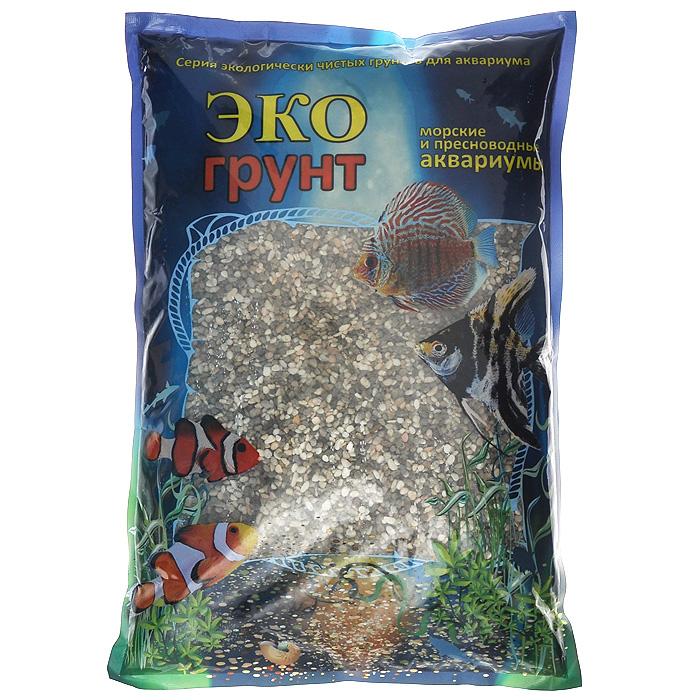 """Галька реликтовая """"ЭКО грунт"""", для аквариумов, 2-5 мм, 3,5 кг г-0328"""