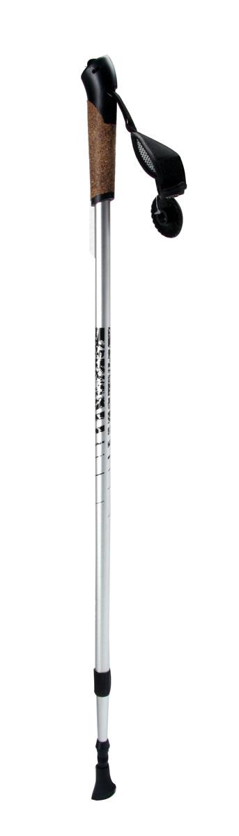 Палки для скандинавской ходьбы King Camp, телескопические, длина 80-135 см, 2 штУТ-00005637