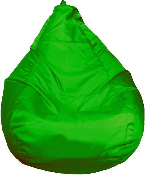 Кресло-мешок Orange, объем 300 л, цвет: зеленый52001Кресло-мешок Orange изготовлено из спанбонда и оксфорда наполнен гранулами вспененного полистирола. Кресло-мешок выполнено в форме груши, оно очень легкое, принимает форму тела, долговечное, экологичное и имеет низкую теплопроводность. Благодаря чему прекрасно подходит для использования в квартирах и загородных домах, гостиницах и домах отдыха, кафе, детских садах и школах, клубах и кинотеатрах, а также офисов и салонах.