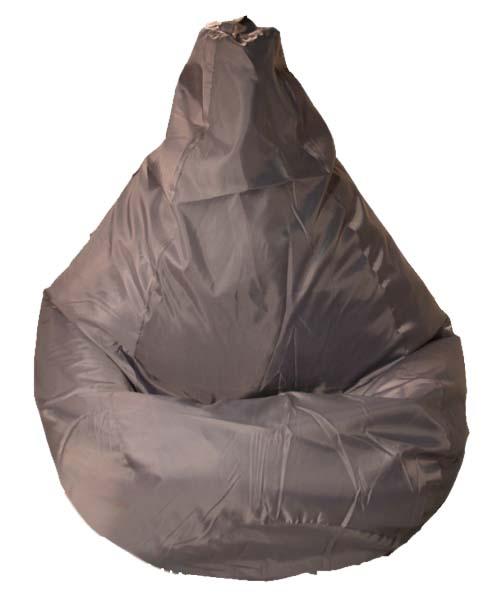Кресло-мешок Orange, объем 300 л, цвет: серый52006Кресло-мешок Orange изготовлено из спанбонда и оксфорда наполнен гранулами вспененного полистирола. Кресло-мешок выполнено в форме груши, оно очень легкое, принимает форму тела, долговечное, экологичное и имеет низкую теплопроводность. Благодаря чему прекрасно подходит для использования в квартирах и загородных домах, гостиницах и домах отдыха, кафе, детских садах и школах, клубах и кинотеатрах, а также офисов и салонах.