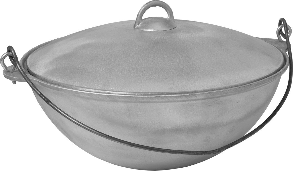 Казан Boyscout с крышкой, 8 л. 6136661366Казан Boyscout изготовлен из литого алюминия, что означает его экологичность и долговечность. Хороший казан - замечательная посуда для приготовления восточного плова, овощей, риса, тушеной баранины, лагмана, в казане делают голубцы и фаршированные перцы, жаркое, мясо с овощами, хаш, чанахи. Казан снабжен съемной ручкой-дужкой из нержавеющей стали и крышкой. Можно использовать как на природе, так и в домашних условиях.