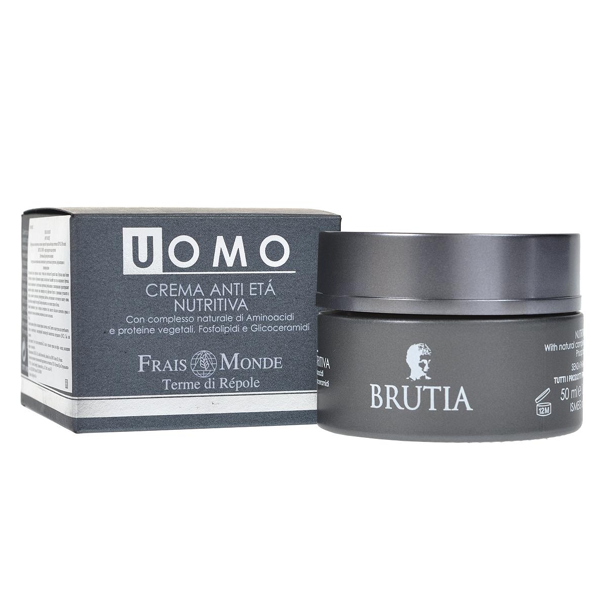 Питательный крем Brutia. Frais Monde против морщин, для мужчин, 50 мл