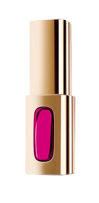 LOreal Paris Лаковая губная помада Color Riche, Экстраординер, оттенок 401 Драматическая Фуксия, 6 млA7940800Лаковая помада Экстраординер от Color Riche - это уникальное сочетание трех видов масел. Раскрывающие цвет масла насыщают цветовые пигменты, создавая глубокий и насыщенный цвет. Драгоценные масла дарят самый изысканный уход. Покрывая ваши губы, глянцевые масла создают на поверхности экстраординарное лаковое сияние. Результат: насыщенный цвет и экстраординарный блеск, губы мягкие и увлажненные.
