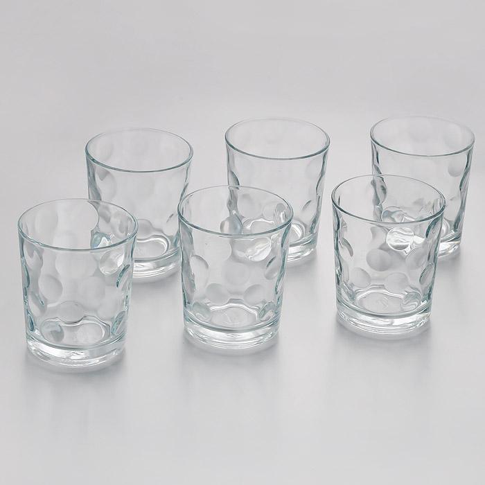 Набор стаканов Pasabahce Space, 260 мл, 6 шт52903Набор Pasabahce Space состоит из шести стаканов, выполненных из прочного натрий-кальций-силикатного стекла. Внешние стенки изделий украшены изящным рельефом. Такие стаканы прекрасно подойдут для подачи лимонада, сока, воды и других напитков. Набор Pasabahce Space станет незаменимым на вашей кухне, а изящный дизайн порадует любую хозяйку.