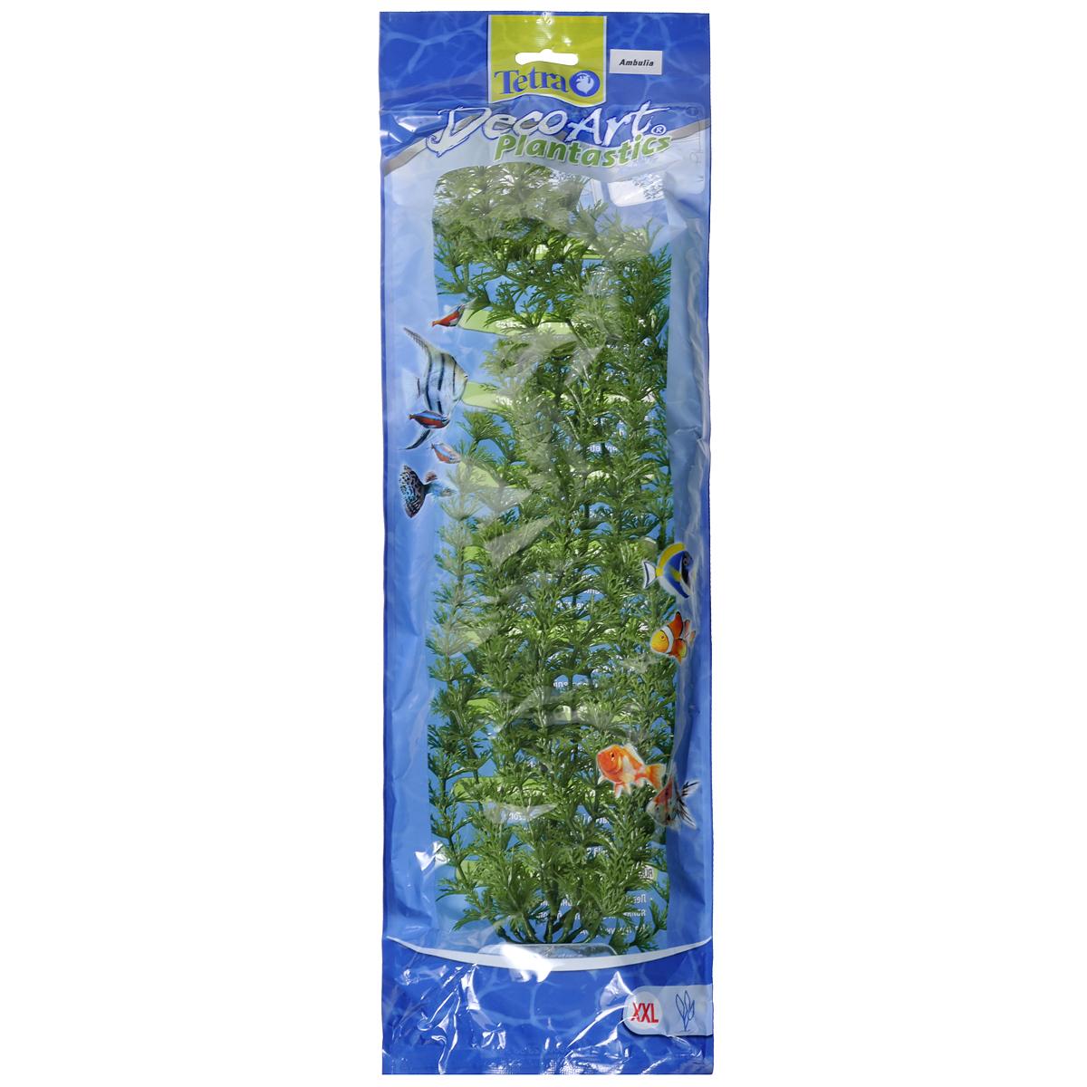 Искусственное растение для аквариума Tetra Амбулия XXL607132Это растение хорошо подойдет для оформления аквариума. Естественно выглядящее искусственное растение; Для использования в любых аквариумах; Создает отличное место для укрытия (в т.ч. для метания икры); Легко и быстро устанавливается, является абсолютно безопасным; Не требует ухода; Долгое время не теряет форму и окраску. Высота растения: 46 см.