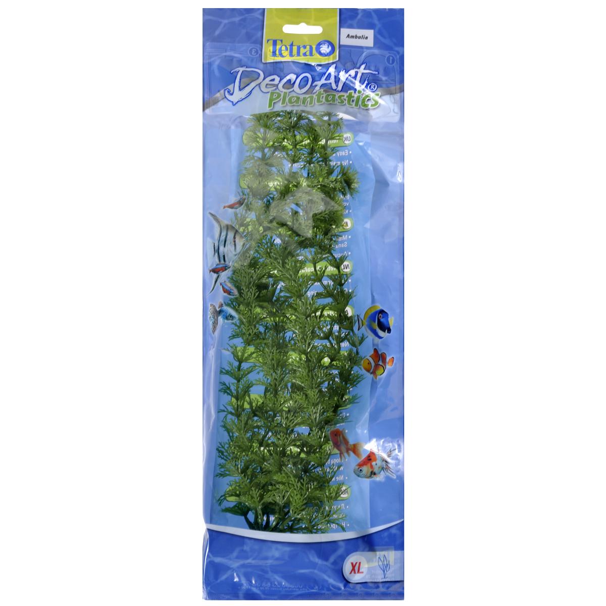 Искусственное растение для аквариума Tetra Амбулия XL607071Это растение хорошо подойдет для оформления аквариума. Естественно выглядящее искусственное растение; Для использования в любых аквариумах; Создает отличное место для укрытия (в т.ч. для метания икры); Легко и быстро устанавливается, является абсолютно безопасным; Не требует ухода; Долгое время не теряет форму и окраску. Высота растения: 38 см.