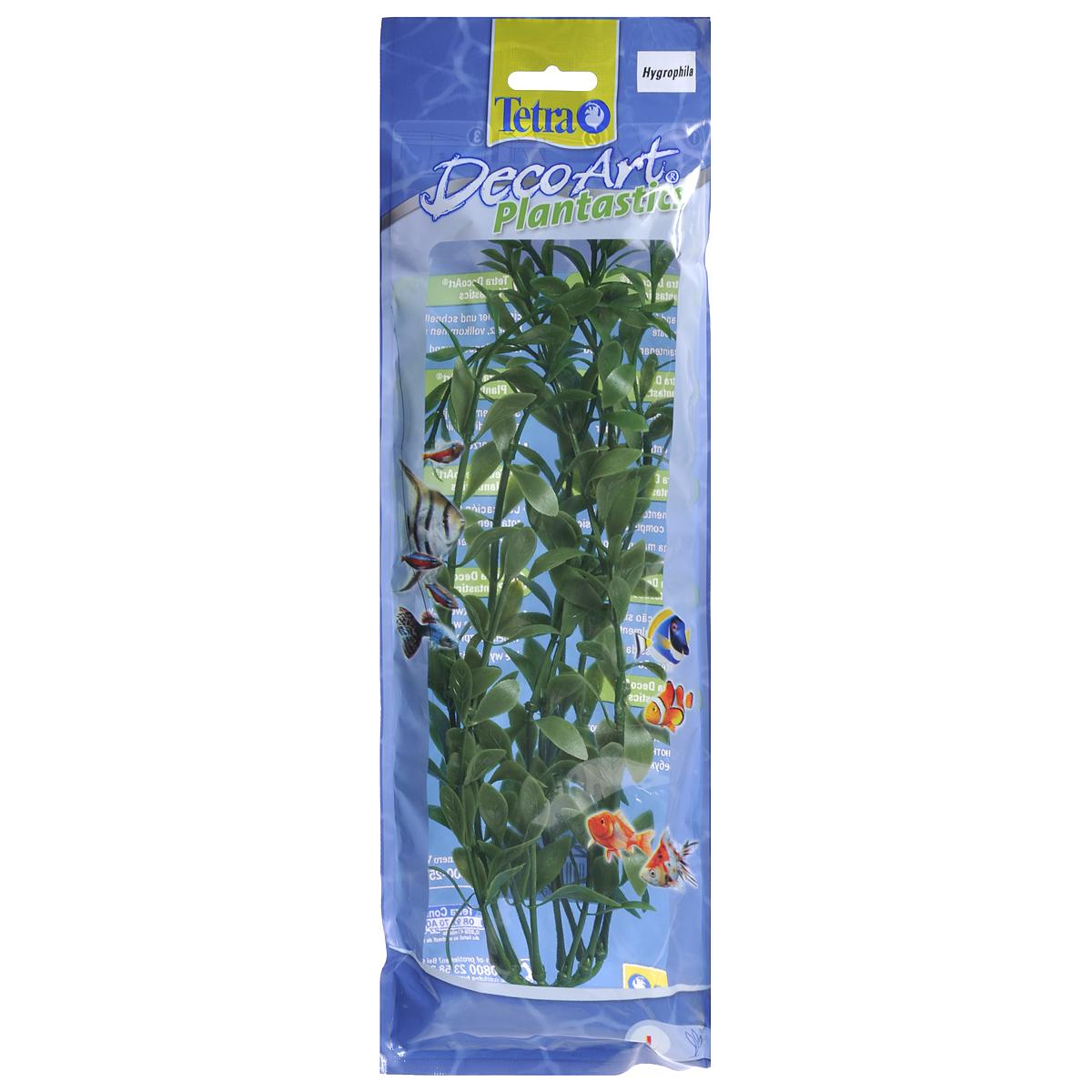 Искусственное растение для аквариума Tetra Гигрофила L607033Это растение хорошо подойдет для оформления аквариума. Естественно выглядящее искусственное растение; Для использования в любых аквариумах; Создает отличное место для укрытия (в т.ч. для метания икры); Легко и быстро устанавливается, является абсолютно безопасным; Не требует ухода; Долгое время не теряет форму и окраску. Высота растения: 30 см.
