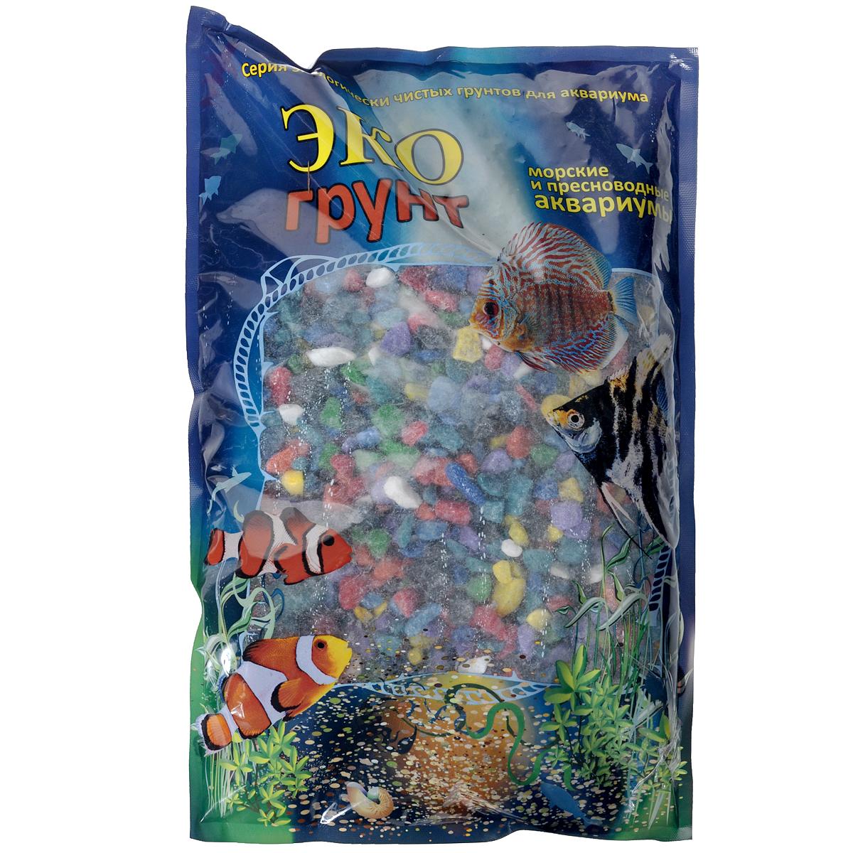 Мраморная крошка ЭКО грунт, для аквариумов, цвет: мульти, 5-10 мм, 3,5 кгг-0267Грунт Эко Грунт представлен в качественной евроупаковке. Технологии производства включают и добычу камня, его калибровку по фракциям, мойку, сушку и термическую обработку. Грунт полностью готов для прямого использования как в морских, так и пресноводных аквариумах и полностью безопасен для рыб и рептилий. Прекрасно подходит для создания уникальных декоративных композиций дома, на даче, в любом месте.