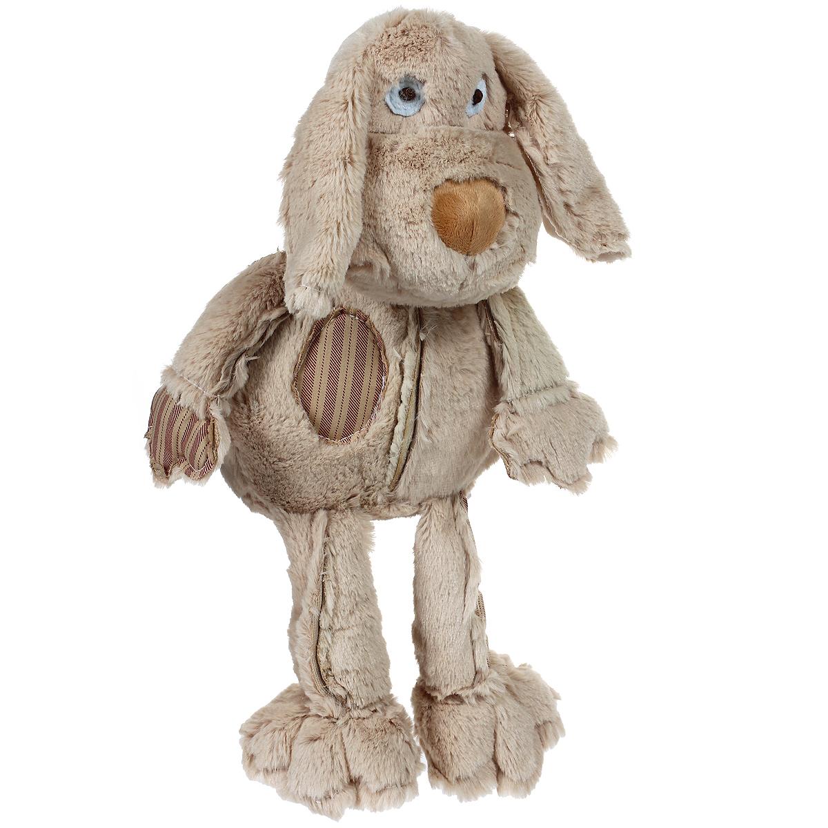 Мягкая игрушка Magic Bear Toys Бежевая собака, 26 смJC-60475-CОчаровательная мягкая игрушка Magic Bear Toys Бежевая собака вызовет умиление и улыбку у каждого, кто ее увидит. Она выполнена из мягкого плюша, искусственного меха и текстильного материала в виде забавной собачки с длинными ушками и является частью коллекции молодого дизайнера Джеки Чиноко. Удивительно мягкая игрушка принесет радость и подарит своему обладателю мгновения нежных объятий и приятных воспоминаний. Дизайнерская игрушка приятно удивит вас оригинальностью идеи и высоким качеством исполнения. Она станет отличным подарком для детей и взрослых.