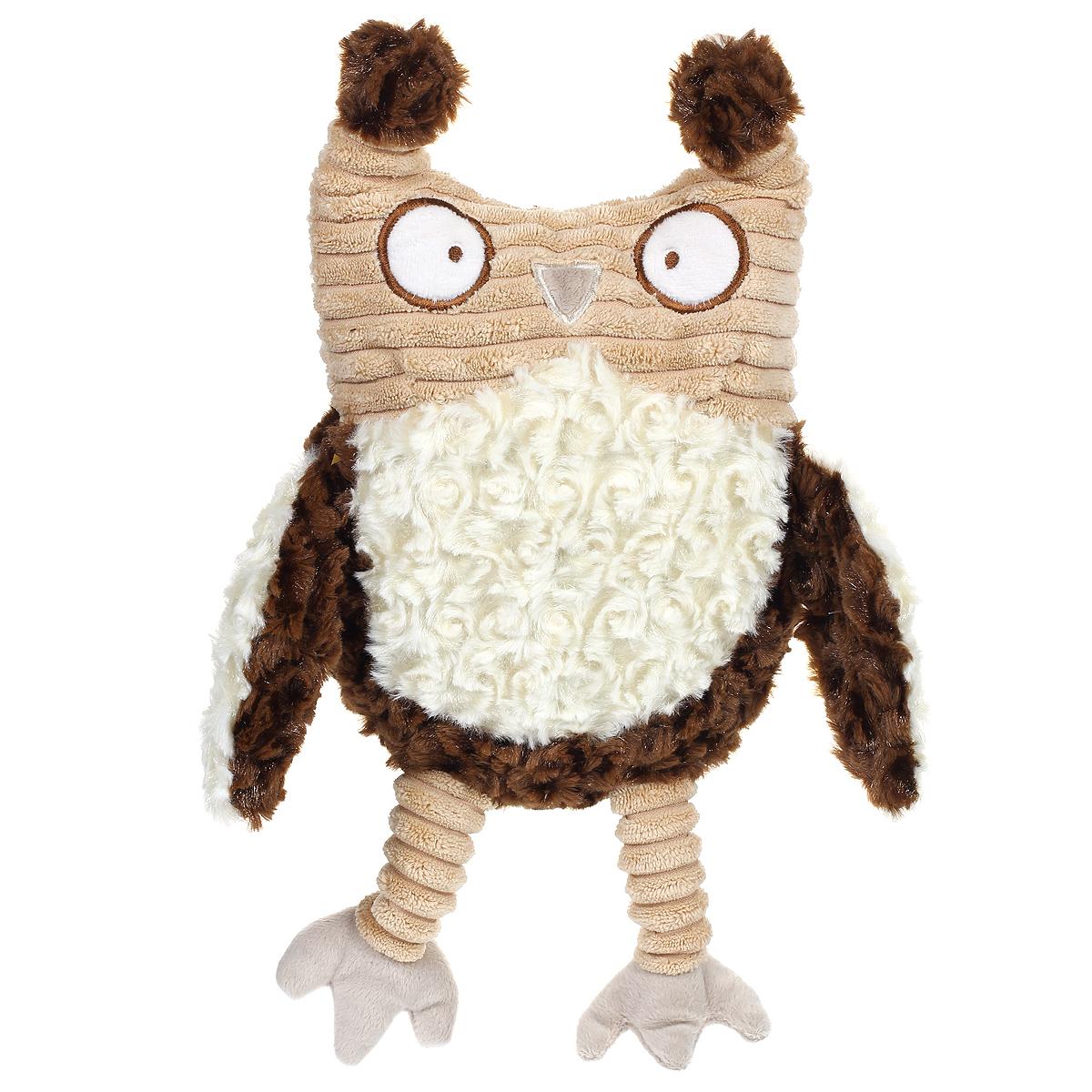 Мягкая игрушка Magic Bear Toys Коричневая сова, 37 смJC-13073-AОчаровательная мягкая игрушка Magic Bear Toys Коричневая сова вызовет умиление и улыбку у каждого, кто ее увидит. Она выполнена из мягкого плюша, искусственного меха и текстильного материала в виде забавной совы и является частью коллекции молодого дизайнера Джеки Чиноко. Удивительно мягкая игрушка принесет радость и подарит своему обладателю мгновения нежных объятий и приятных воспоминаний. Дизайнерская игрушка приятно удивит вас оригинальностью идеи и высоким качеством исполнения. Она станет отличным подарком для детей и взрослых.