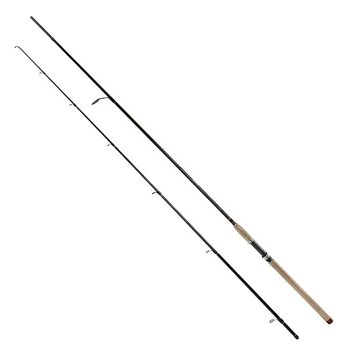 Удилище спиннинговое Daiwa New Exceler, штекерное, 2,7 м, 3-18 г38143Спиннинги этой серии созданы для ловли лососевых рыб в широком диапазоне длин и тестов. Средний строй успешно гасит сильные рывки рыбы и позволяет сделать дальний заброс. Оптимально работают с вращающимися и колеблющимися блеснами, воблерами при прямой проводке. Высокомодульный графит делает бланки невероятно легкими и идеально сбалансированными, с быстрой вершинкой и прочным бланком.
