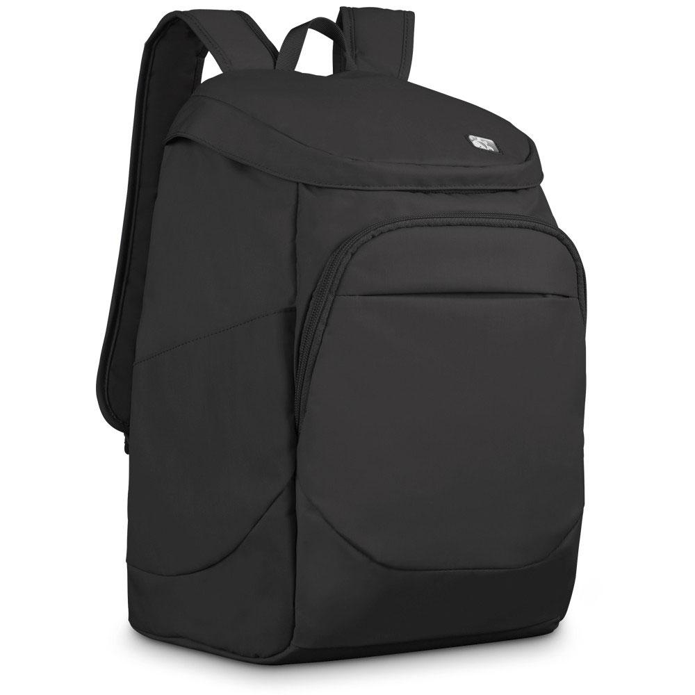 Рюкзак городской PacSafe Slingsafe 300 GII, цвет: черныйPB127BKЛегкий и компактный спортивный рюкзак PacSafe Slingsafe 300 GII выполнен из качественных материалов стойких к износу и истиранию. Он отлично подойдет для повседневного использования. Рюкзак имеет мягкую заднюю стенку, благодаря чему его легко носить. Так же рюкзак имеет такие полезные особенности как: водоотталкивающий материал, основное отделение и передний карман на молнии, внутренний карман для ноутбука или планшета. Особенности: Металлическая сетка eXomesh slashguards в нижней передней и боковой панелях. Slashproof Carrysafe - съемный плечевой ремень. Интеллектуальная система молнии Security. RFID-блокировка кармана. Блокировка для крепления ремешка. Водоотталкивающая ткань. Мягкие отделения для IPad и 13 Laptop. Основное отделение на молнии. Передний карман на молнии с внутренним органайзером. Боковые карманы для 2х бутылок воды или зонтика. Внутренний карман для электроники. Мягкий внутренний карман. ...
