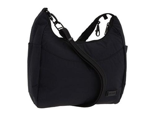 Сумка PacSafe Citysafe 100 GII, цвет: черныйPB144BKКлассическая антивандальная сумка Citysafe 100 GII идеально подходит для города, бизнеса или отдыха. Собираетесь на завтрак с друзьями в городе, отправляетесь на рынок, или просто отдыхаете у бассейна с коктейлем, эта сумка подойдет к любому наряду и обезопасит от вора. Особенности: Металлическая сетка eXomesh slashguards в передней и боковой панелях. Slashproof Сarrysafe съемный плечевой ремень. Интеллектуальная молния Security. RFID-блокировки кармана. Блокировка для крепления ремешка. Водоотталкивающая ткань. Подходит для ручной клади в авиапутешествии. Основное отделение на молнии. Передний карман на молнии. Внутренний карман для электроники. Внутренний карман на молнии. Материал: водоотталкивающий нейлон и высокопрочная проволока из нержавеющей стали.