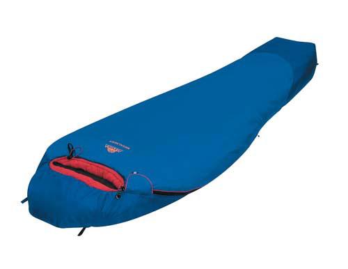 Спальный мешок Alexika Megalight, цвет: синий, левосторонняя молния. 9201.030529201.03052