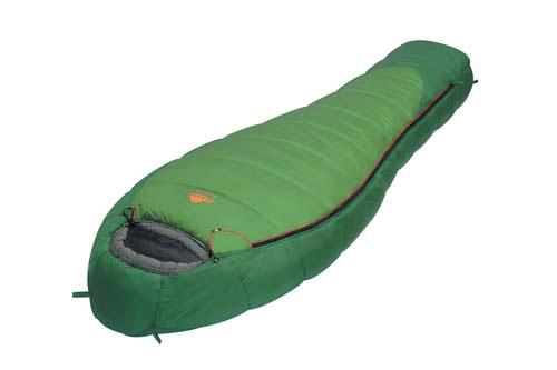 Спальный мешок Alexika Mountain, цвет: зеленый, правосторонняя молния. 9221.010119221.01011