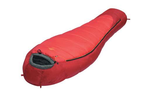 Спальный мешок Alexika Nord, цвет: красный, правосторонняя молния9227.01061Если вы любите зимний вид отдыха на природе, ну или, по крайней мере, глубокую осень, когда на дворе минусовая температура и морозец, то экстремальный спальный мешок Alexika Nord как раз то, что обеспечит вам комфортное время сна в эти холодный ночи. Благодаря повышенному содержанию синтетического утеплителя APF-Isoterm 3D теплый ночлег обеспечен даже при температуре в минус 10 градусов. Но даже в минус двадцать четыре градуса этот мешок способен противостоять холоду. При более высоких плюсовых температурах, например десять-пятнадцать градусов вам также вполне обеспечен комфортный отдых. Огромное количество застежек сводят на нет проникновение холодного воздуха внутрь, сохраняя драгоценное тепло. Данный спальник будет отличным решением для экстремалов, которые отправляются надолго в ледяной климат, например в полярную экспедицию. И еще немаловажно то, что цена на данный спальный мешок невысокая, в особенности, если сравнивать ее с ценами на аналогичный товар других марок, или...