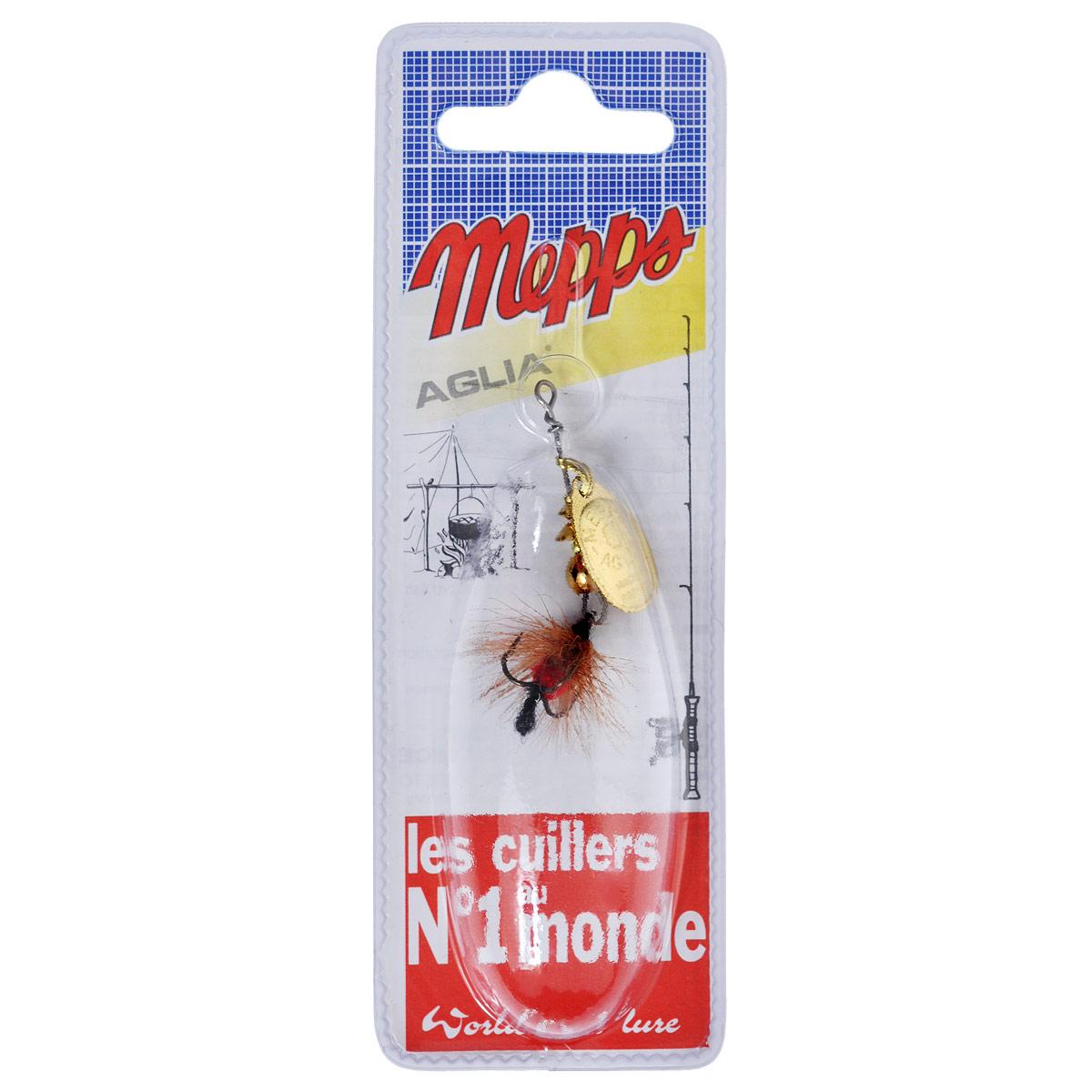 Блесна Mepps Aglia OR Mouch. Rouge, вращающаяся, №05740Вращающаяся блесна Mepps Aglia OR Mouch. Rouge оснащена мушкой из натурального беличьего хвоста, это очень эффективные приманки для ловли жереха, голавля, язя, окуня и других видов рыб, особенно в периоды массового вылета насекомых. Aglia Mouche - некрупная блесна, которая особенно подходит для летней ловли рыбы (особенно осторожной) на мелководье.