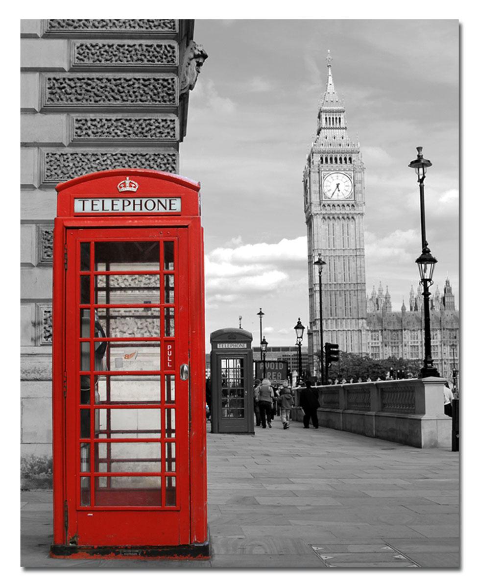 Канвас Idea Телефонная будка, 40 х 50 смIDEA CT3-06Канвас - это ткань с художественной фотопечатью, натянутая на деревянный каркас. Такое изделие - оригинальный декоративный элемент, способный преобразить любой интерьер. Картина оформлена изображением красной телефонной будки на черно-белом фоне. С задней стороны имеется петелька для подвешивания к стене. Стильный, современный дизайн, а также яркие и насыщенные цвета сделают эту картину прекрасным дополнением интерьера комнаты.