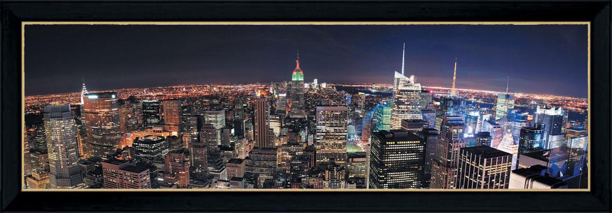 Постер в раме Postermarket Ночной город, 95 см х 33 смPM-3301Картина для интерьера (постер) - современное и актуальное направление в дизайне любых помещений. Постер с красочным изображением ночного города оформлен в раму черного цвета, выполненную из пластика. Картина защищена прозрачным пластиком. С задней стороны имеются петельки для подвешивания к стене. Картина может использоваться для оформления любых интерьеров: - дом, квартира (гостиная, спальня, кухня, прихожая, детская); - офис (комната переговоров, холл, кабинет); - бар, кафе, ресторан или гостиница. Картины, предоставляемые компанией Постермаркет: - собраны вручную из лучших импортных комплектующих; - надежно упакованы в пленку с противоударными уголками.