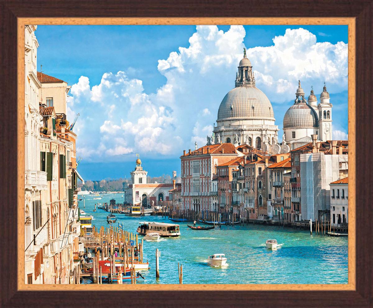 Постер в раме Postermarket Венеция, 50 х 40 смPM-4003Картина для интерьера (постер) - современное и актуальное направление в дизайне любых помещений. Постер с красочным изображением венецианских каналов оформлен в раму коричневого цвета, выполненную из пластика под дерево. Картина защищена прозрачным пластиком. С задней стороны имеется петелька для подвешивания к стене. Картина может использоваться для оформления любых интерьеров: - дом, квартира (гостиная, спальня, кухня, прихожая, детская); - офис (комната переговоров, холл, кабинет); - бар, кафе, ресторан или гостиница. Картины, предоставляемые компанией Постермаркет: - собраны вручную из лучших импортных комплектующих; - надежно упакованы в пленку с противоударными уголками.