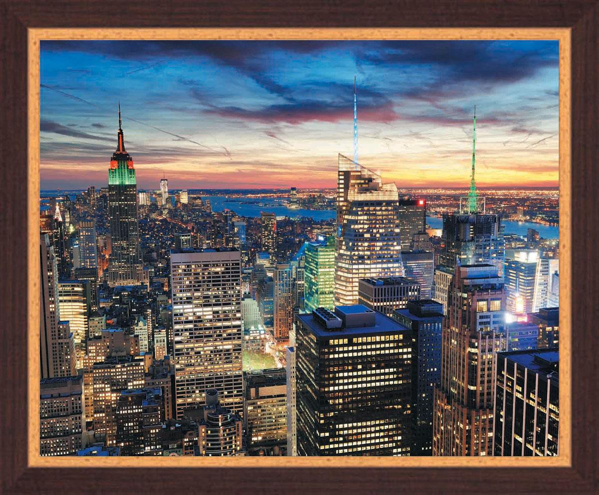 Постер в раме Postermarket Ночной город, 50 х 40 смPM-4005Картина для интерьера (постер) - современное и актуальное направление в дизайне любых помещений. Постер с красочным изображением ночного города оформлен в раму коричневого цвета, выполненную из пластика под дерево. Картина защищена прозрачным пластиком. С задней стороны имеется петелька для подвешивания к стене. Картина может использоваться для оформления любых интерьеров: - дом, квартира (гостиная, спальня, кухня, прихожая, детская); - офис (комната переговоров, холл, кабинет); - бар, кафе, ресторан или гостиница. Картины, предоставляемые компанией Постермаркет: - собраны вручную из лучших импортных комплектующих; - надежно упакованы в пленку с противоударными уголками.