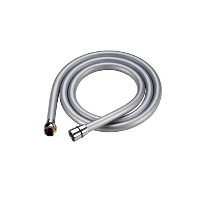 Шланг для душа Iddis, усиленный, длина 1,5 м. A5071115A50711 1.5Гибкий усиленный шланг Iddis выполнен из ПВХ. Стальная гильза препятствует расширению внутреннего диаметра шланга в месте его соединения со штуцером, предотвращая срыв шланга со штуцера. Система Twist-Free предотвращает перекручивание шланга, что позволяет комфортно принимать душ, а также продлевает срок службы изделия. Шланги комплектуются прокладкой с фильтром 100 мкм, который предотвращает засорение форсунок лейки. Толщина стенок шланга: 2,2 мм. Толщина стальной гильзы: 0,4 мм. Внешний диаметр шланга: 14 мм. Внутренний диаметр шланга: 8,5 мм.