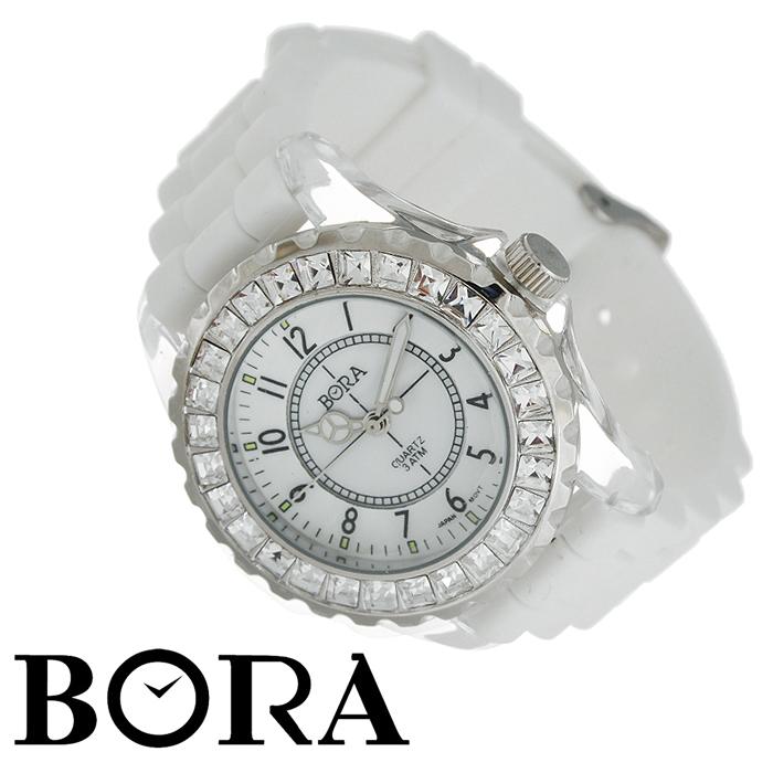 ���� ������� �������� Bora. FWBR030 / T-B-2693-WATCH-WHITE - BoraFWBR030 / T-B-2693-WATCH-WHITE�������� ������� ���� Bora �������� �������� ��������� ���������� Seiko Instruments. ������ ����� �������� �� �������� � ������� � �������������� ��������� PDV, ������������� ��������. ������ ������ ������� ����������� �� ����������� �����. ��������� �������� ��������� �������, ������� ����� ��������� - �������, �������� � ���������, ����������� � �������. ���������� ������� ����� ������������ ��������.