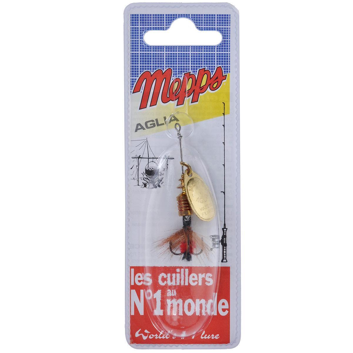 Блесна Mepps Aglia OR Mouch. Rouge, вращающаяся, №15741Вращающаяся блесна Mepps Aglia OR Mouch. Rouge оснащена мушкой из натурального беличьего хвоста, это очень эффективные приманки для ловли жереха, голавля, язя, окуня и других видов рыб, особенно в периоды массового вылета насекомых. Aglia Mouche - некрупная блесна, которая особенно подходит для летней ловли рыбы (особенно осторожной) на мелководье.