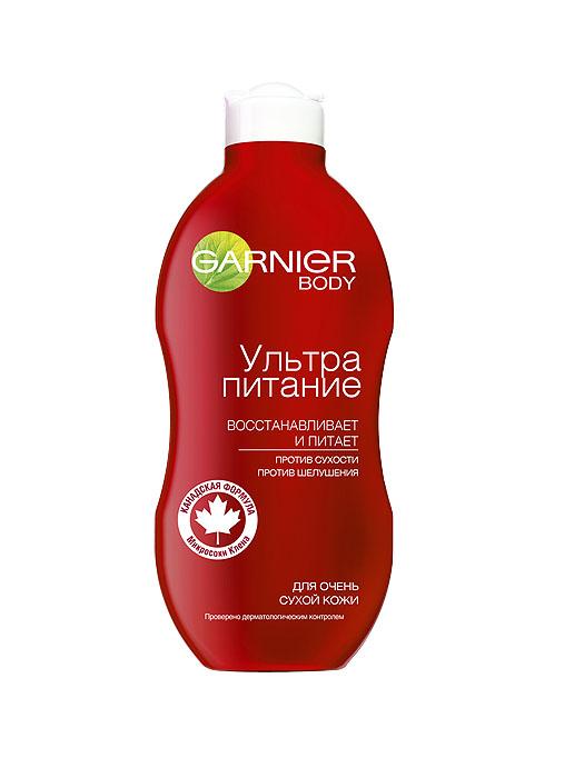Garnier Молочко для тела Интенсивный уход, восстанавливающее, питающее, для очень сухой кожи, 250 мл