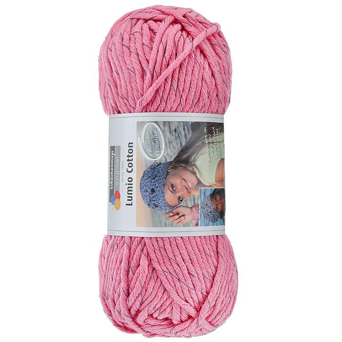 Пряжа для вязания Schachenmayr Lumio Cotton, цвет: розовый (00036), 90 м, 150 г9807779-36