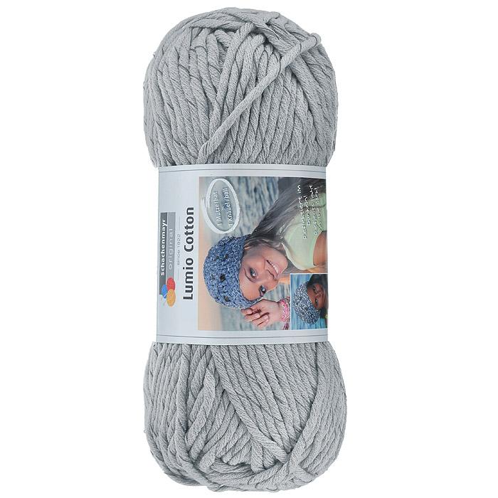 Пряжа для вязания Schachenmayr Lumio Cotton, цвет: светло-серый (00090), 90 м, 150 г9807779-90
