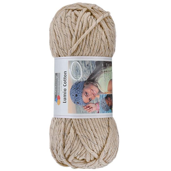 Пряжа для вязания Schachenmayr Lumio Cotton, цвет: песочный (00005), 90 м, 150 г9807779-5